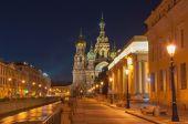 Night St. Petersburg. — Stock Photo