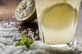 Mint and lemonade — Stockfoto