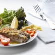 Garnish fish fillet — Stock fotografie #62185725