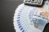 European bills — Stock Photo