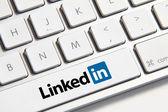 Linkedin button — Stock Photo