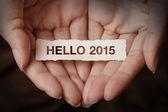 Hello 2015 — Foto de Stock