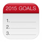 2015 Goals — Stock Vector