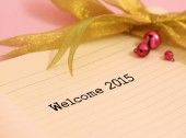 Welcome 2015 — Stock Photo