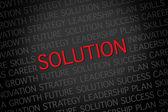 Lösung — Stockfoto