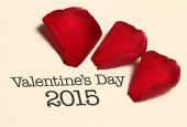 Valentine's Day 2015 — Stock Photo