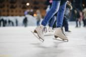 溜冰场 — 图库照片