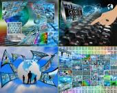 Monde de l'internet — Photo