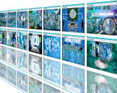Wall sites — 图库照片