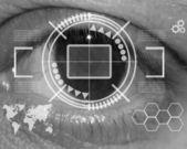 Human eye — Zdjęcie stockowe