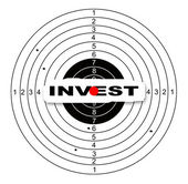 Hitting the target — Stock Photo