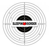 Sleeping disorder — Stock Photo