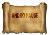 Andropause — Foto Stock