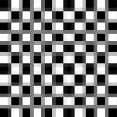 Black-white checkered plane — Stock Photo