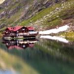 Beautiful summer landscape from Balea Lake — Stock Photo #55319167