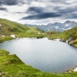 Landscape from Capra Lake and Fagaras mountains — Stock Photo #55319341