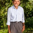 Senior farmer outdoor — Stock Photo #59319397