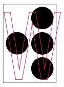 Alphabet letter — Stock Vector