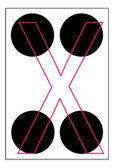 Alfabe harf — Stok Vektör