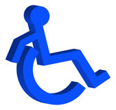 Wheelchair person — Stok Vektör