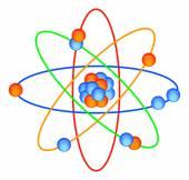 Molecular electron — Stock Vector
