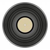 Vintage vinyl record — Stock Vector