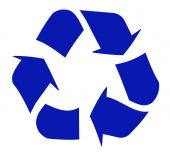 Recycle symbol — Stock Vector