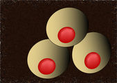 Illustration of balls — Stock Vector