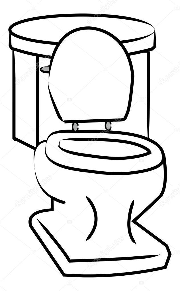 厕所的插图 — 图库矢量图像08