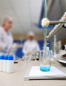 Medical laboratory — Stockfoto