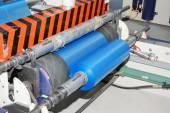 Wounding roll of polyethylene — Stock Photo