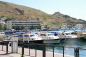 Seaport in Balaclava — Stock Photo