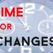 Time for changes — Stock Photo #62951435