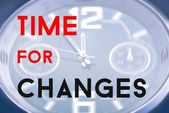 Time for changes — Stock Photo