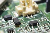Manufacturing  circuit board — Stock Photo