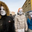 Moscow, Russia - February 4, 2012. Anti-government opposition ra — Stock Photo #63822507