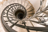 A spiral staircase in the cathedral of Budapest — Fotografia Stock