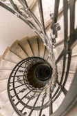 A spiral staircase in the cathedral of Budapest — Foto de Stock