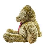 Brown teddy bear isolated on white backgroun. — Stock Photo
