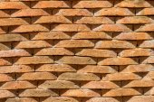Brown ston wall background. — Stock Photo