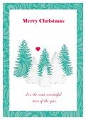 Holiday Season greeting card — Stock Vector