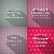 Valentines Day greeting cards set — Stock Vector #59976603