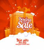 Boxing day sale. — Stock Vector