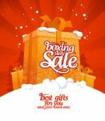 Svátek vánoční prodej. — Stock vektor