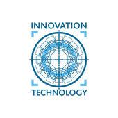 Innovation technology logo concept. — Stock Vector
