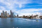 Australia's gold coast budynku — Zdjęcie stockowe