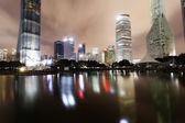 Shanghai city. Nights Pudong — Stock Photo
