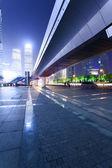 Shanghai Pudong night — Stock Photo