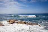 Sunshine Coast Queensland coastline — Stock Photo