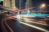 Shanghai Pudong urban transport — 图库照片